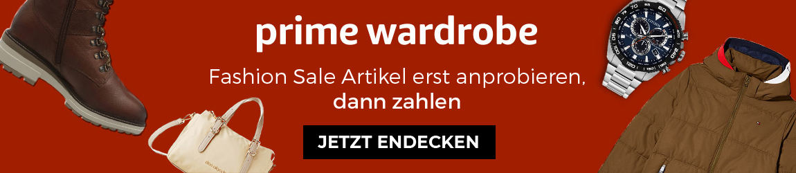 Header – Amazon Prime Wardrobe